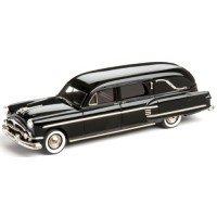 HENNEY - PACKARD Landaulet Funeral Coach, 1954, black