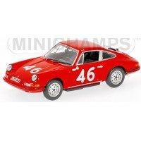 PORSCHE 911 Targa Florio'67 #46, class winner Cahier / Killy