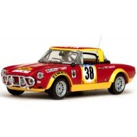 FIAT 124 Abarth Rally East African Safari'75 #38, R.Ulyate / I.Smith