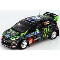 FORD Fiesta RS WRC Rally Mexico'12 #21, C.Atkinson / S.Prévot