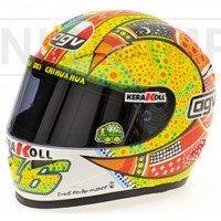 AGV Helmet Moto GP Phillip Island'07, V. Rossi
