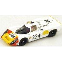 PORSCHE 907 TargaFlorio'68 #224, winner V.Elford / U.Maglioli