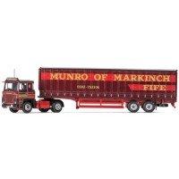 SCANIA 111, 40ft Curtainside Trailer, David Munro and Sons Ltd, Markinch, Scotland