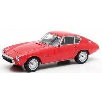 GHIA FIAT 1500 GT, 1964, red