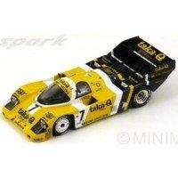 PORSCHE 956 Fuji'86 #7, winner P.Barilla / P.Ghinzani