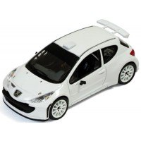 PEUGEOT 207 S2000 Rally Spec, 2011, white (includes 2 sets of wheels and tyres)