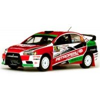 MITSUBISHI Lancer EvoX Rally Italy'13 #41, winner WRC2 N.Fuchs / F.Mussano