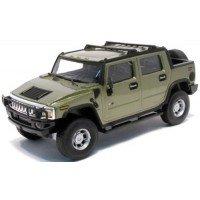 Hummer H2 SUT, green metallic