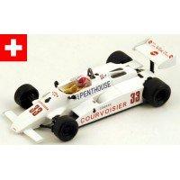 THEODORE TY01 GP Netherlands'81 #33, M.Surer
