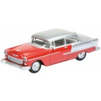 CHEVROLET Bel Air, red/silver
