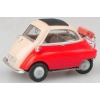 BMW Isetta 250, red/white
