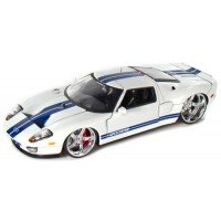 CADILLAC Deville, 1959, pink  FORD GT, 2005, white/blue stripes