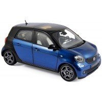 SMART Forfour, 2015, black/blue