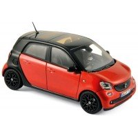 SMART Forfour, 2015, black/red