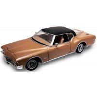 BUICK Riviera GS, 1971, brown/black