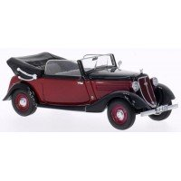 WANDERER W240 Convertible, 1935, d.red/black