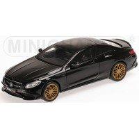 BRABUS 850 S63 S-Class Coupé, 2015, matt black (limited 350)