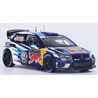 VOLKSWAGEN Polo R WRC Rally MonteCarlo'16 #1, winner S.Ogier / J.Ingrassia