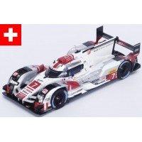AUDI R18 e-tron quattro 6h Fuji'15 #7, 3rd Fässler / Lotterer / Tréluyer (limited 500)