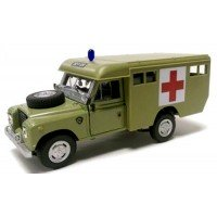 LAND ROVER 109 military Ambulance