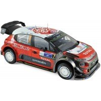 CITROËN C3 WRC Rally Mexico'17 #7, winner K.Meeke / P.Nagle