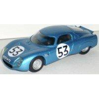 CD Peugeot LeMans'66 #53, (ab) G.Heligoin / J.Rives