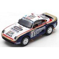 PORSCHE 959 Rally ParisDakar'86 #185, 2nd J.Ickx / C.Brasseur