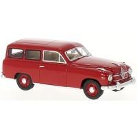 BORGWARD Hansa 1500 Camionette, 1951, red