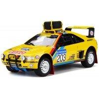 PEUGEOT 405 T16 Grand Raid Rally ParisDakar'90 #203, winner A.Vatanen / B.Berglund