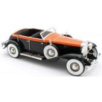 DUESENBERG Model J Riviera Phaeton By Brunn, 1934, orange/black
