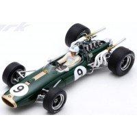 BRABHAM BT20 GP Monaco'67 #9, winner D.Hulme