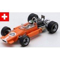BRABHAM BT24 GP Monaco'69 #17, (ab) S.Moser