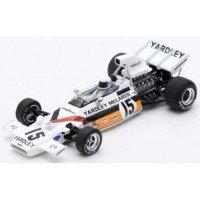 McLAREN M19A GP Monaco'72 #15, 5th B.Redman