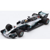 MERCEDES-AMG Petronas Motorsports GP AbuDhabi'18 #44, winner L.Hamilton (408 points - special package with tyre marks)