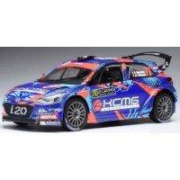 HYUNDAI i20 R5 Rally MonteCarlo'18 #76, S.Sarrazin / JJ.Renucci