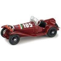 ALFA ROMEO 2300 MilleMiglia'32 #105, T.Nuvolari / GB.Guidotti