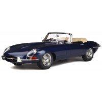 JAGUAR E-type Roadster, 1961, d.blue (limited 500)