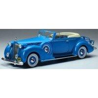 PACKARD Convertible Victoria, 1938, blue