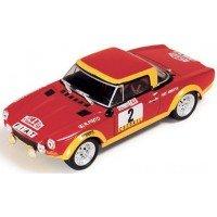 FIAT 124 Abarth Rally Portugal'74 #2, winner R.Pinto / A.Bernacchini