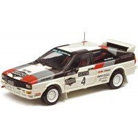 AUDI Quattro Rally Jänner'81 #4, winner Wittmann / Nestliner