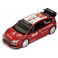CITROËN C4 WRC Rally MonteCarlo'07 #1, winner S.Loeb / D.Elena