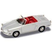 ABARTH 850 Spyder Riviera open, 1959, silver