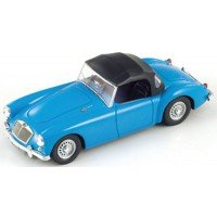 MG A Twin Cam Soft Roof, 1958, blue